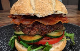 Lean Hoisin Burger